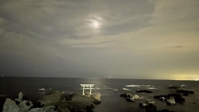 大洗磯前神社で皆既月食見学🌙🌛🌕page-visual 大洗磯前神社で皆既月食見学🌙🌛🌕ビジュアル