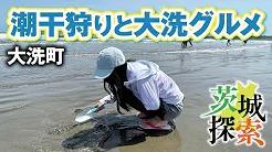 大洗サンビーチで潮干狩りと大洗グルメpage-visual 大洗サンビーチで潮干狩りと大洗グルメビジュアル